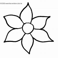 malvorlagen blume picture coloring pages easy flower