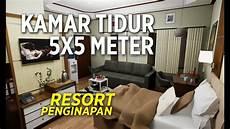 Desain Interior Kamar Penginapan Atau Resort Ukuran 5x5