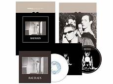 first two bauhaus albums to see re release box set versions
