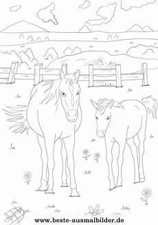 beste ausmalbilder ausmalbilder pferde malvorlagen