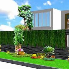 Desain Taman Median Jalan