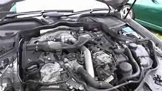 w211 e350 motor engine coolant top up location mercedes e class w211 sport