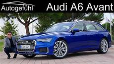 audi a6 avant review all new 2019 estate kombi a6 c8