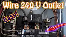 how to wire a 240 volt outlet diy install a 220 volt outlet nema 6 20 20 circuit breaker