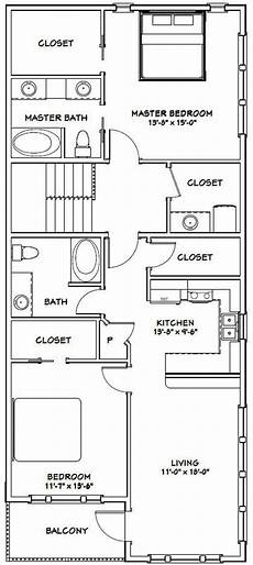 2 br 2 ba house plans 60x50 house 2 bedroom 2 5 bath 1 694 sq ft pdf