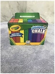Amazon Com Washable Sidewalk Chalk 48 Assorted Bright Crayola Washable Sidewalk Chalk Bright Bold Colors