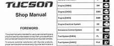 2007 hyundai tucson repair shop manual 2 volume set original hyundai tucson 2006 2007 2008 workshop service repair manual