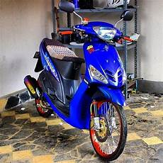 Mio Modif Simple by 80 Gambar Modifikasi Yamaha Mio Gaya Thailook Terbaru
