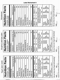 50 blank nutrition label worksheet in 2020 label