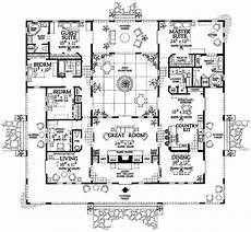 spanish revival house plans with courtyards love gt the inner courtyard i love this floor plan