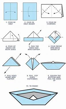 schiffchen falten anleitung how to make a paper boat stuff origami boat