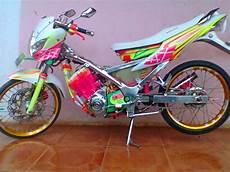 Modifikasi Motor Satria Fu Airbrush by Modifikasi Motor Satria Fu Airbrush