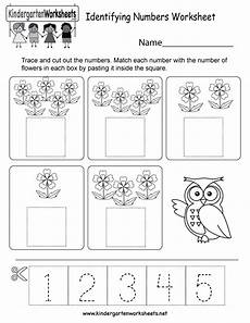 numbers worksheets for kindergarten 18393 free printable identifying numbers worksheet for kindergarten