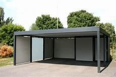 Carport Mit Schuppen Preise - design metall carport aus glas stahl blech 214 sterreich
