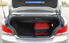 bmw serie 1 coffre essai bmw 120i cabriolet 2008 l automobile magazine