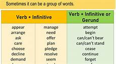 what is infinitive definitions exles and verb infinitive list english grammar here