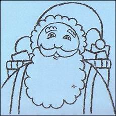 how to draw santa claus beard hellokids