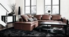 Modernes Wohnzimmer Braun - contemporary living room furniture