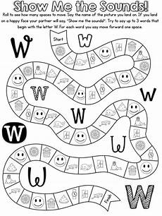 free alphabet game is for letter w preschool crafts