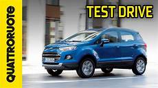 ford ecosport 2014 test drive