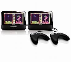 tragbarer dvd player mit 2 bildschirmen pd7032 12 philips