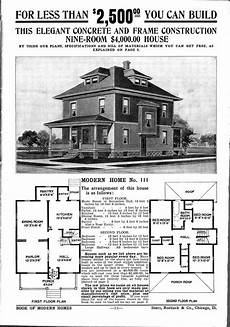 sears roebuck house plans 1906 what s an american foursquare brass light gallery s blog
