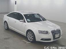 2008 Audi A6 White For Sale Stock No 39107 Japanese