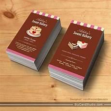 bakery name card template sweet bakery shop custom cakes chocolates pastry
