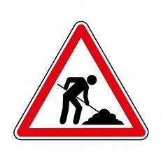 panneau travaux en cours ct16 panneau attention travaux panneau danger panneau de circulation panneaux pictos