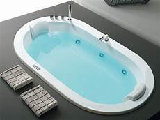 whirlpool oval built in bathtub oasy by hafro