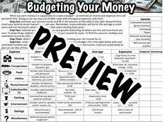 transportation worksheets for middle school 15201 budget worksheet budgeting worksheets budgeting worksheets
