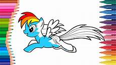 My Pony Malvorlagen Rainbow Dash My Pony Mio Mini Pony Rainbow Dash Parte 1