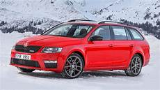 Skoda Octavia 4x4 Vrs Two Minute Road Test Winter Special
