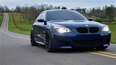 Bmw E60 M5 V10 Exhaust Open Country Roads