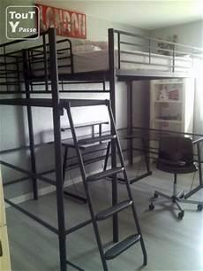 mezzanine avec plateforme 140 x 200 vinneuf 89140