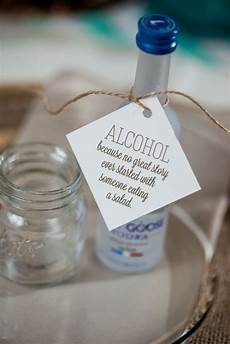 favor tags for any suite alcohol wedding favors grey goose vodka favor tags wedding favors