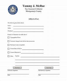 free 12 sle general affidavit forms in pdf word excel