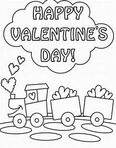 Coloring Pages For Valentines Day S Day Coloring Pages
