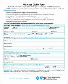 download blue cross blue shield association member claim form for free page 2 formtemplate