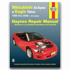 free service manuals online 1995 mitsubishi expo windshield wipe control haynes repair manual for 1995 2005 mitsubishi eclipse shop service garage vx ebay