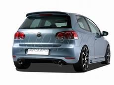 vw golf 6 gti look rear bumper extension
