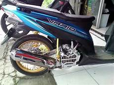 Modifikasi Honda Vario 110 by Modifikasi Vario 110 Cw Terkeren Chrome Blok Mesin