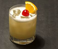 cocktail recipes whiskey sour with egg white