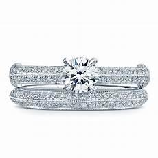 platinum brilliant diamond engagement and wedding