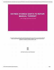 shop manual santa fe service repair hyundai haynes santafe book chilton ebay haynes hyundai santa fe repair manual torrent by e4573 issuu