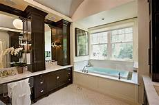 Bathroom Ideas Brown Cabinets by Chocolate Brown Cabinets Transitional Bathroom