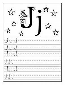letter tracing worksheets j 23894 letter j worksheet for kindergarten preschool and 1 st grade preschool and kindergarten