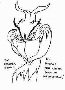 Grinch Malvorlagen Quotes The Grinch Coloring Pages Coloring Home