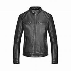 veste style motard homme 84241 veste homme mentex style motard en simili cuir 100 polyur 233 thane noir achat vente