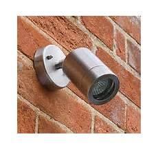 single adjustable wall light stainless steel ip65